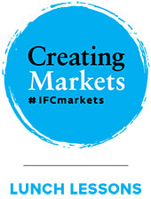 Logo: Creating Markets - Lunch Lessons