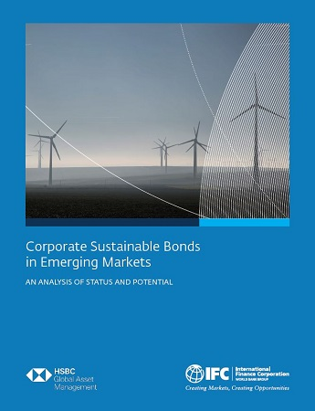 Cover of Report on Status and Potential for Green and Sustainable Bonds in Emerging Markets