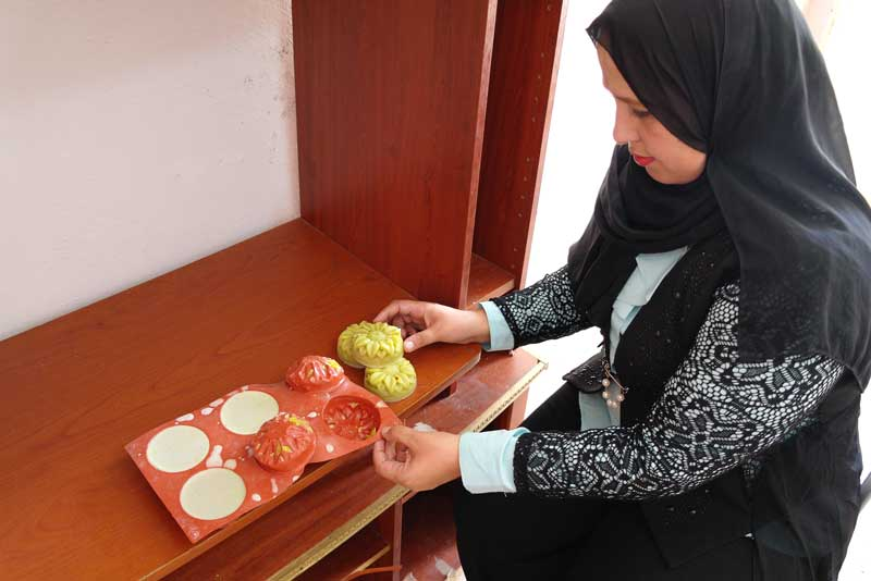 Nadera Abdul Latif's business has enabled her to buy a house and provide for her family.