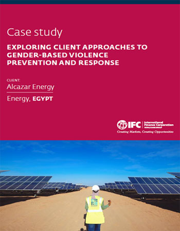 Case Study: Exploring Client Approaches to Gender-Based Violence Prevention and Response - Alcazar Energy, Egypt