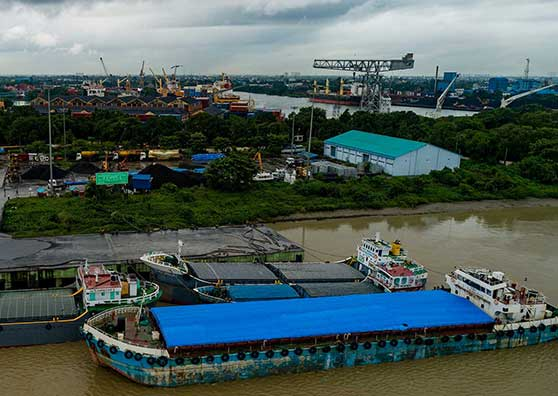 Thumbnail:Reviving a Waterway Creates a New Freight Market for India