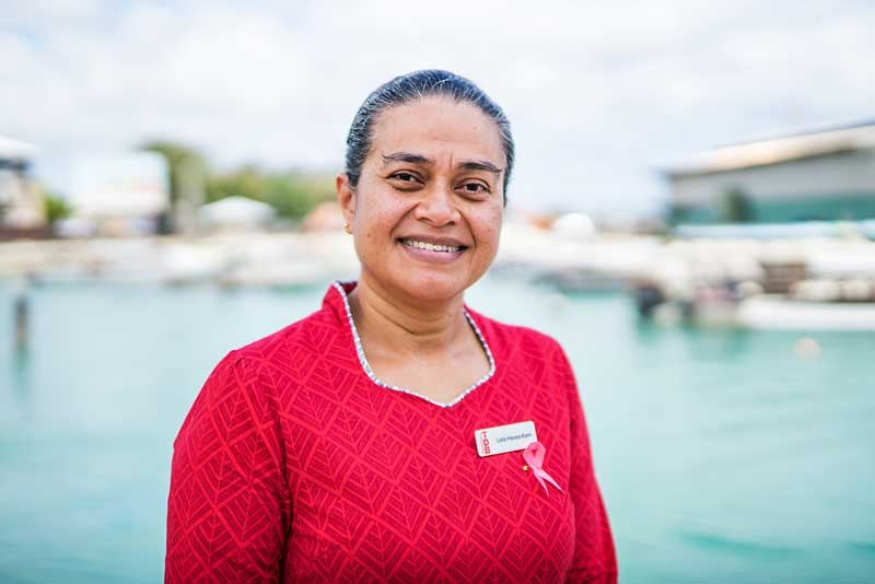 Leta Havea-Kami, chief executive officer of the Tonga Development Bank.