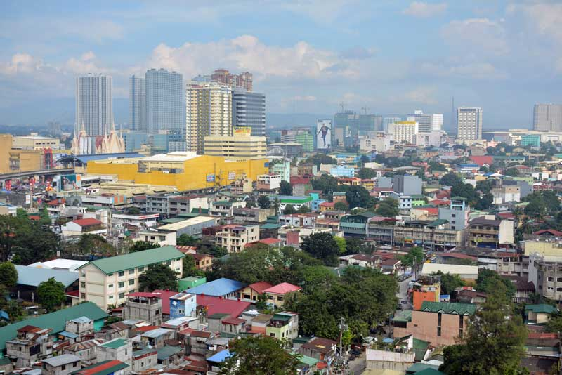 Quezon is home to over 2.9 million people—the most populated city in the Philippines. © walterericsy/Shutterstock