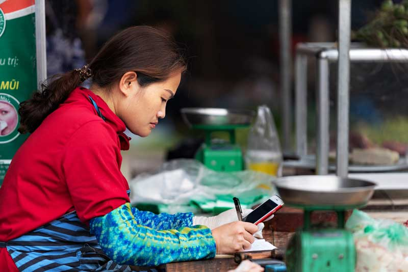 Female-owned small and medium enterprises in Vietnam have an unmet funding need of nearly $1.2 billion. Yavuz Sariyildiz/Shutterstock