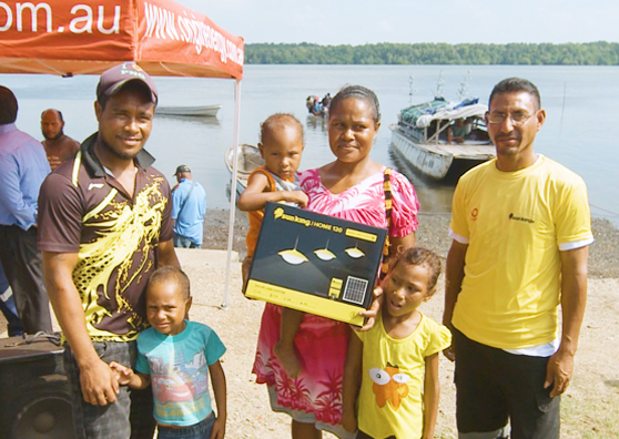 Women Lead the Drive for Solar Lighting Products in Papua New Guinea