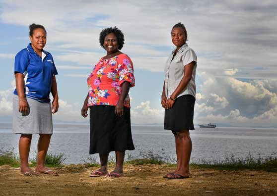 "New Policies Redefine ""Women's Work"" in Solomon Islands"