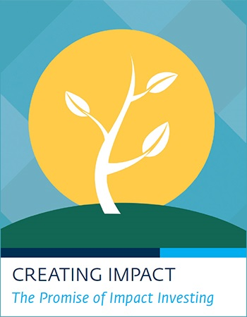Creating Impact—The Promise of Impact Investing