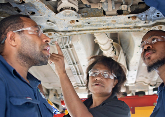 Breaking Barriers in Papua New Guinea's Automotive Industry