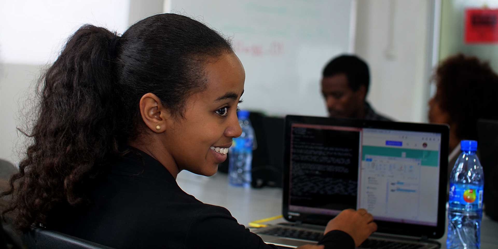 Ethiopian Women Reprogram Their Futures with IT Careers