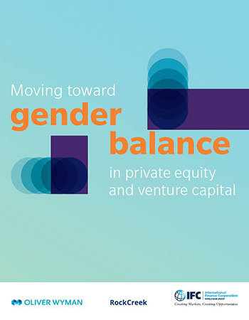 Report: Moving Toward Gender Balance in Private Equity and