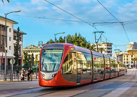 Morocco's Trams Fast-Track Progress
