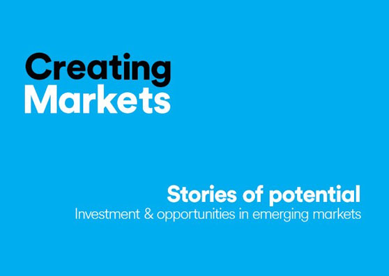 Creating Markets Podcast Banner