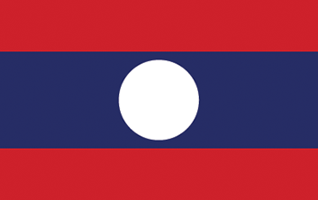 Flag - Lao PDR