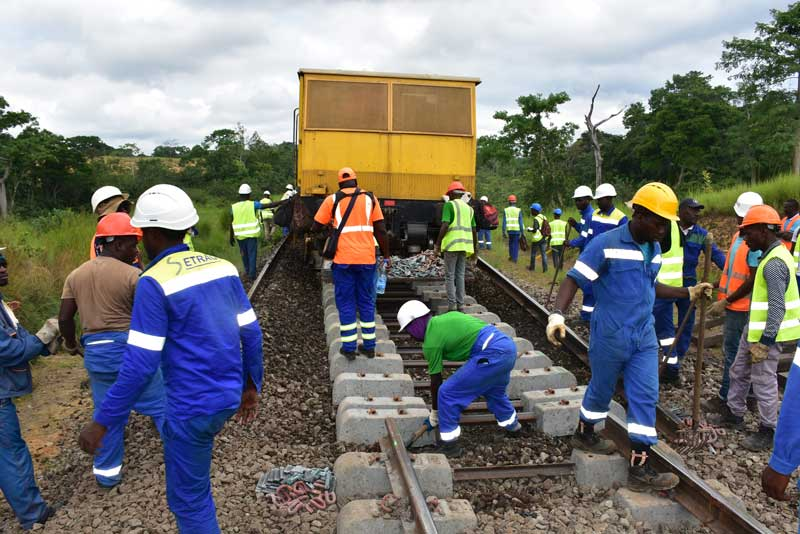 The project is expected to lower the railway's operating costs while improving Gabon's infrastructure.