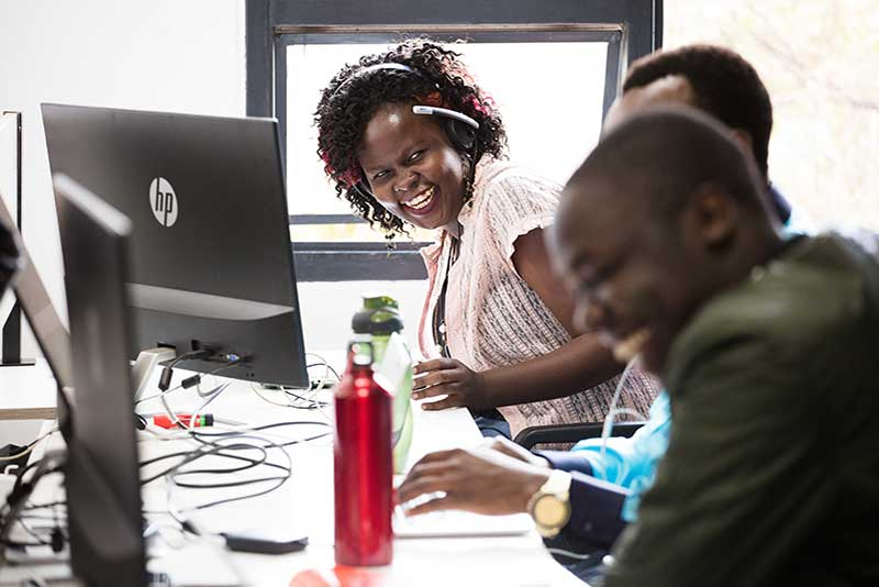 Image: Andela has more than 1,000 developers and almost 500 of them work as employees with partner organizations