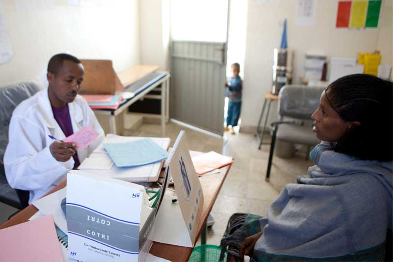 The introduction of new digital technologies could have a crucial impact on Africa's health sector. © Unicef Ethiopia