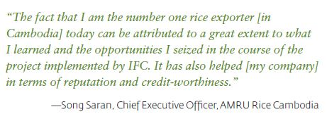 Transforming the Rice Industry and Building Export Capacity