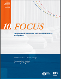 Focus 10: Corporate Governance and Development - An Update