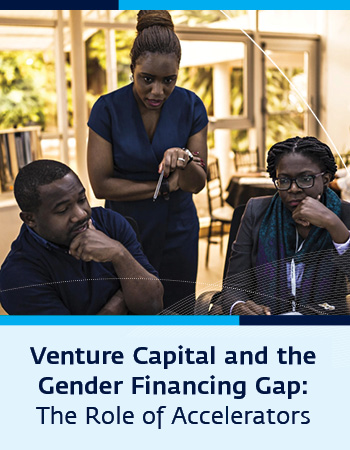 Report cover: Venture Capital and the Gender Financing Gap