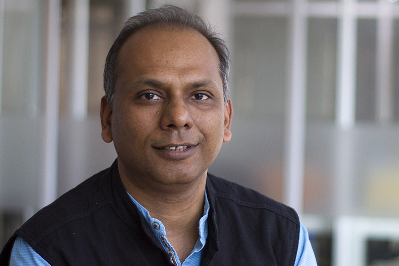 Manish Singhal of pi Ventures. Photo: Courtesy of pi Ventures.