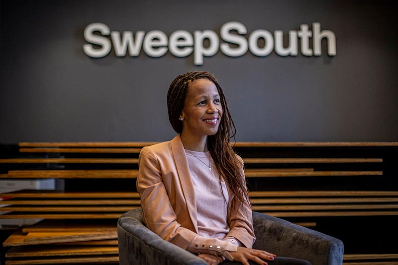 Aisha Pandor founded SweepSouth, one of the fastest-growing tech start-ups in South Africa.