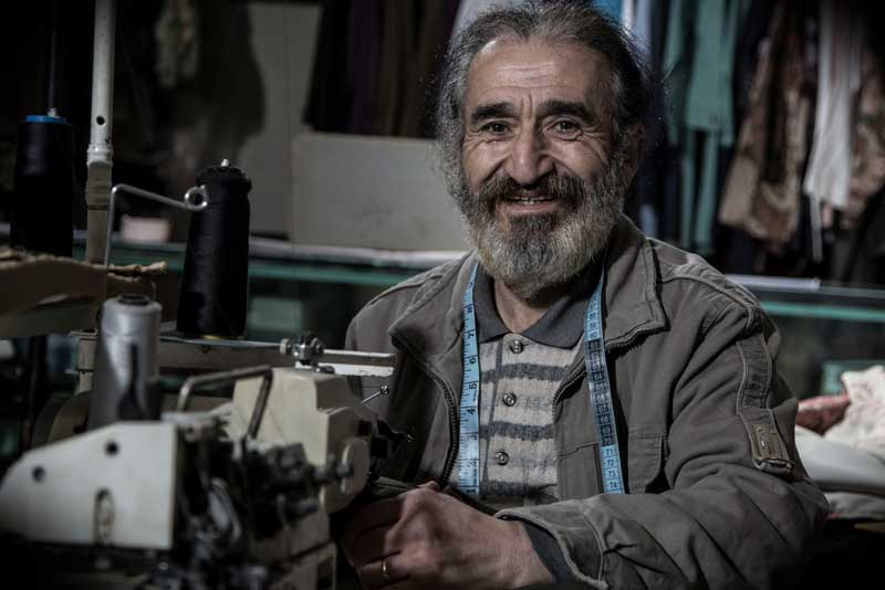 Loans from Tamweelcom helped Emad Dababneh open two sewing shops.