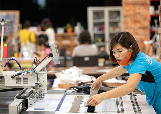 A Garment Factory with a Difference